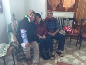 Io con Don Lorenzo e Massimo al termine della sessione individuale