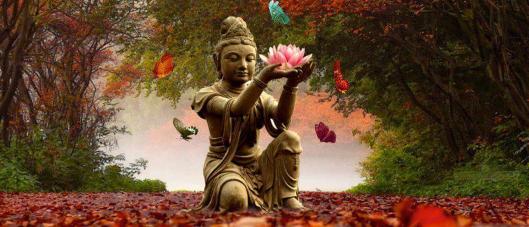 Buddha col fiore (1)